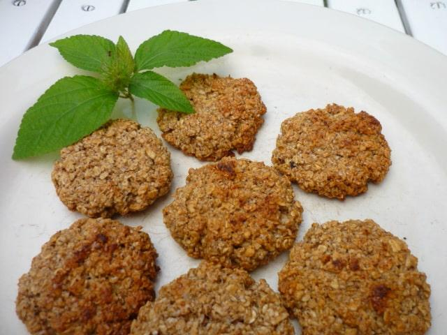 Galletas de avena con 5 ingredientes