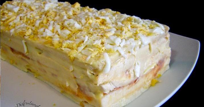 Fácil, sencillo y muy vistoso: pastel de atún frío