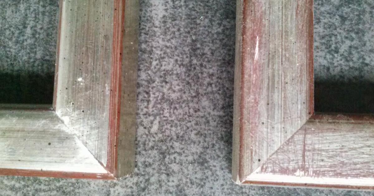 Restaurar y arreglar marcos de forma sencilla en 5 pasos