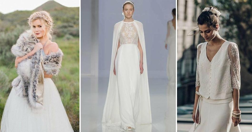 abrigos y boleros para novias | bodas