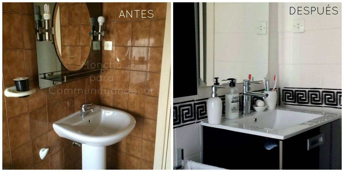 Antes y después de un cuarto de baño reciclado | Bricolaje