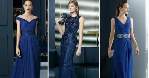 a53435136 Vestidos azules para invitadas  ¡El color con el que siempre aciertas!