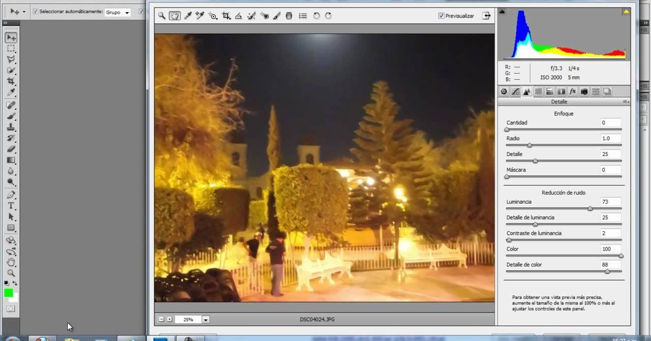 Aprende a quitar fácilmente el molesto ruido en tus fotos nocturnas