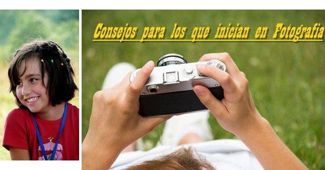 Consejos de Fotografia para principiantes