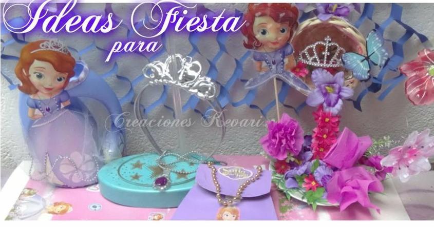 Ideas Para Fiesta Princesa Sofía Manualidades