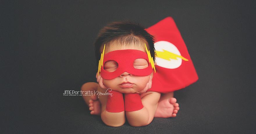 Fotos graciosas de bebes recién nacidos