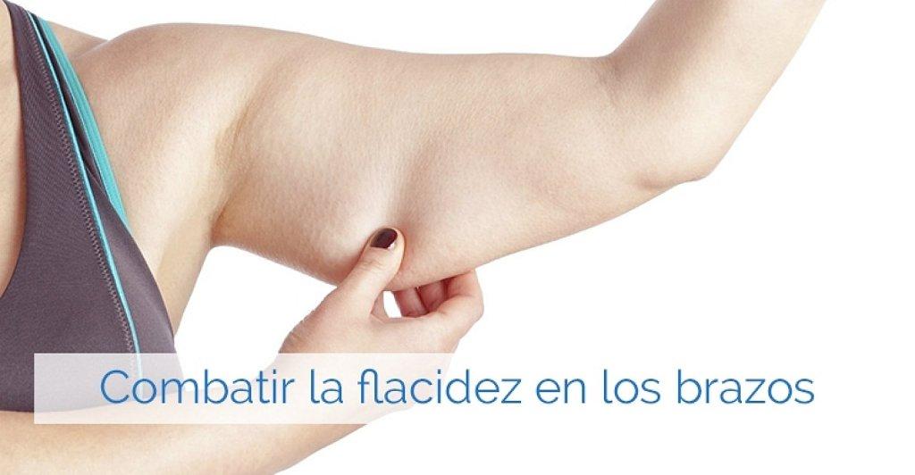 Ejercicios para combatir la flacidez de los brazos