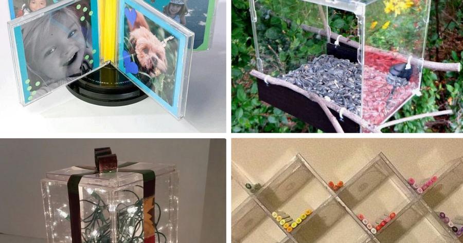 Decora tu hogar con cajas de cds reutilizadas