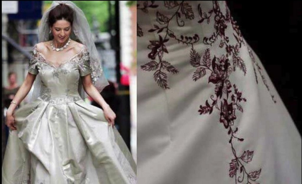 los 10 vestidos de novia más caros del mundo   bodas