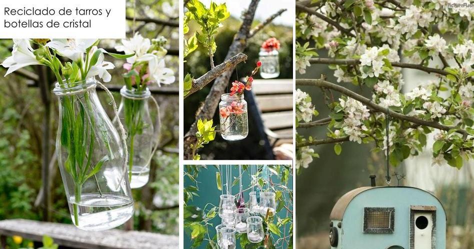 40 Ideas De Reciclaje Y Manualidades Para El Jardin Plantas