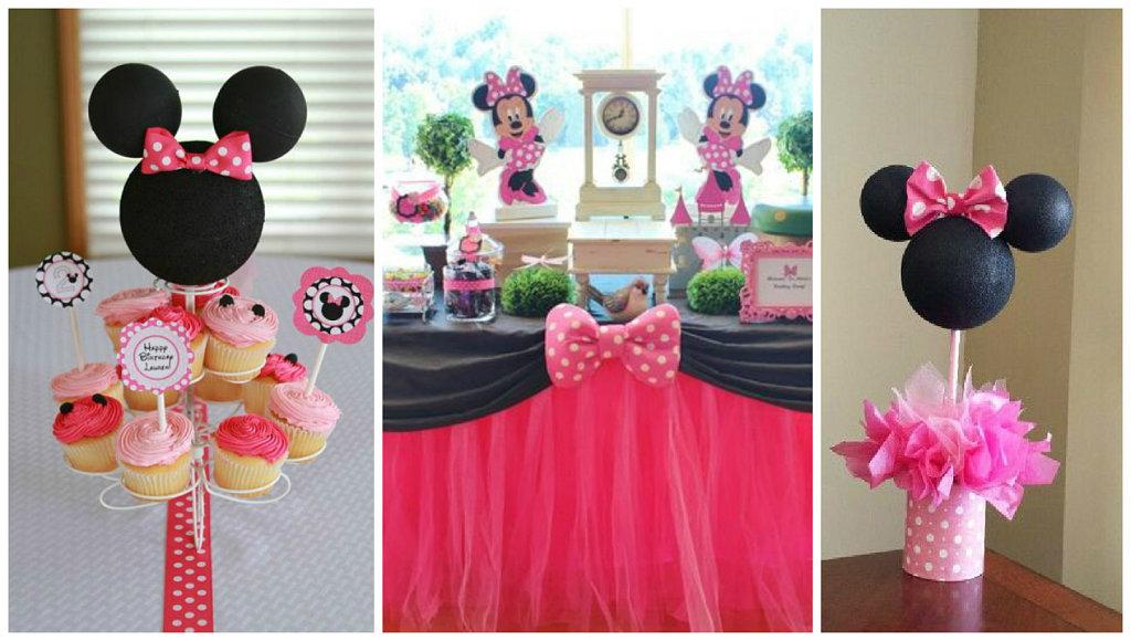Ideas Bonitas Para Una Fiesta Tematica De Minnie Mouse Manualidades