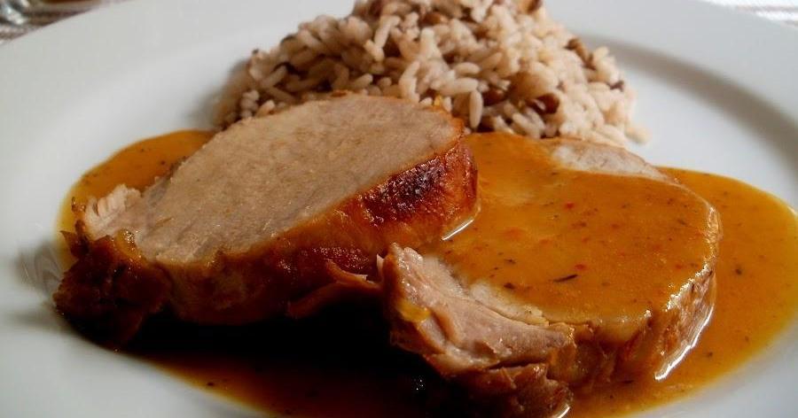 Lomo de cerdo a la naranja para triunfar en la próxima comida familiar