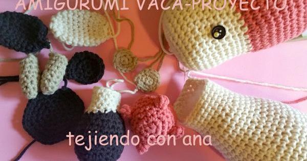 Amigurumi Crochet Cow Pattern by Little Bear Crochets | 315x600