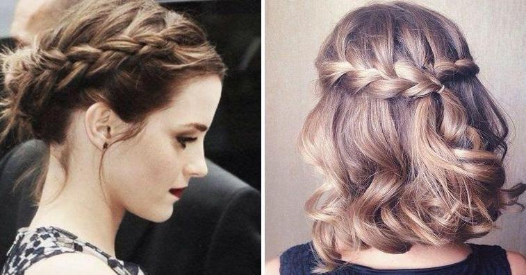 Peinados bonitos para cabello corto suelto