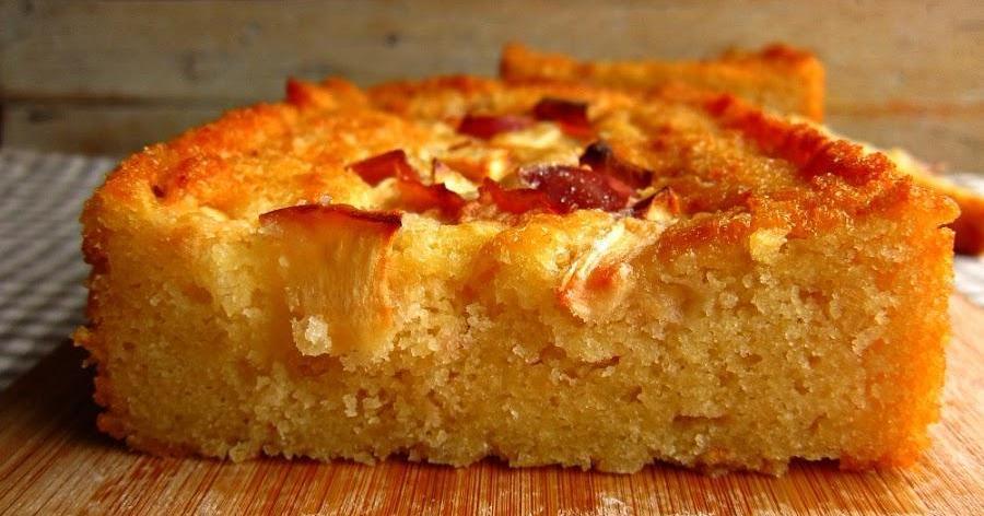 Y de postre...Tarta de manzana SIN gluten, huevo o lactosa