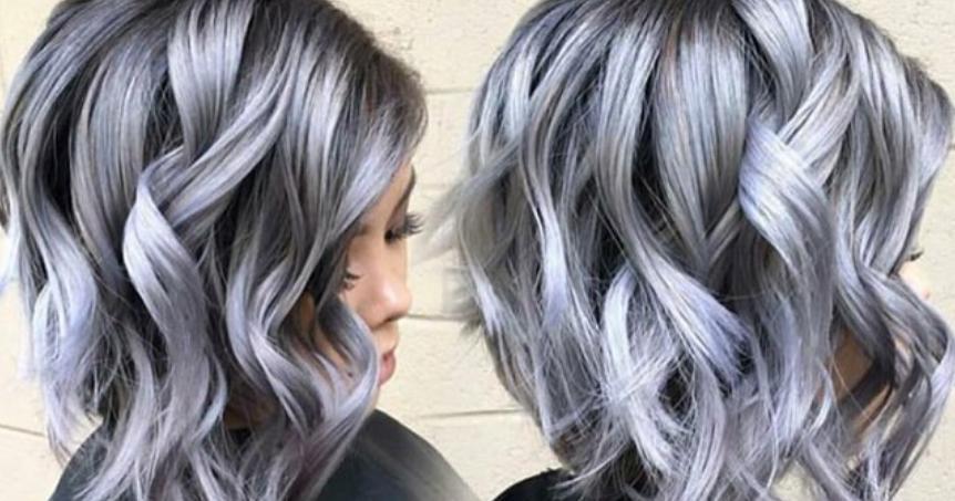Colores para el cabello gris