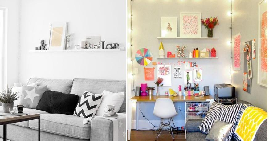 Salones modernos - Como decorar salones pequenos ...