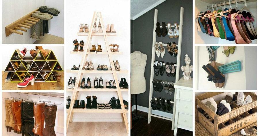 Ideas DIY para organizar tus zapatos