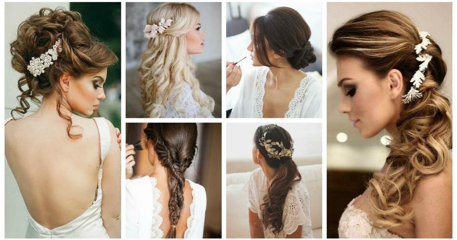 Peinados de novia con vestido sirena