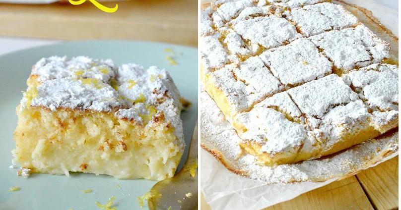 Magic cake de limón