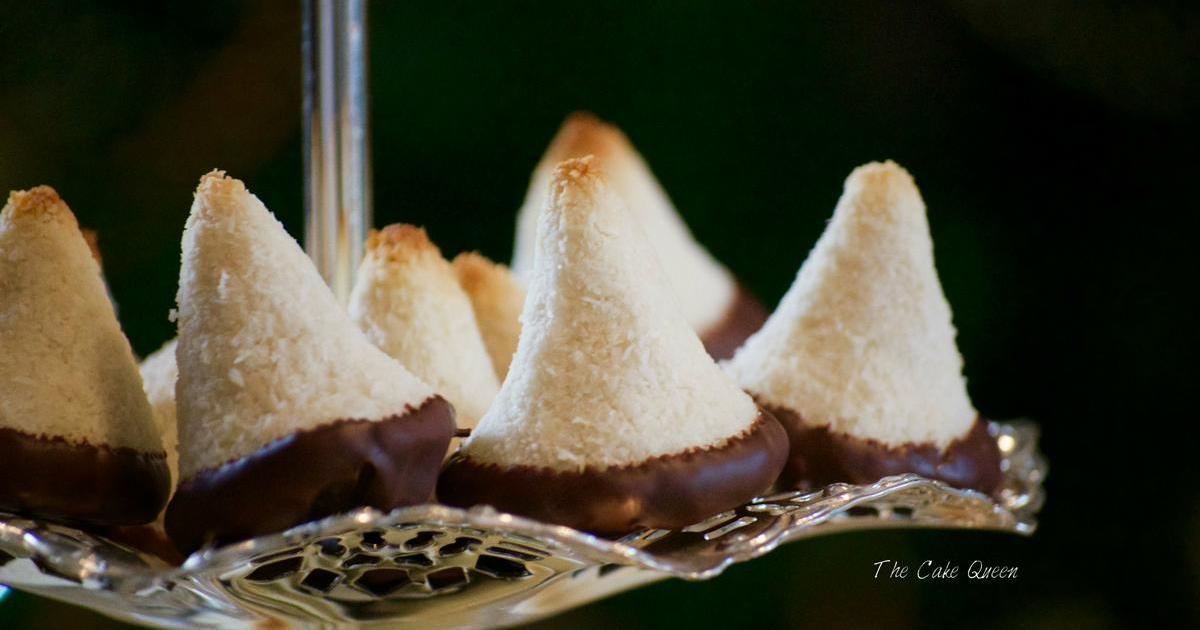Macaroons de coco: Receta alemana sin gluten