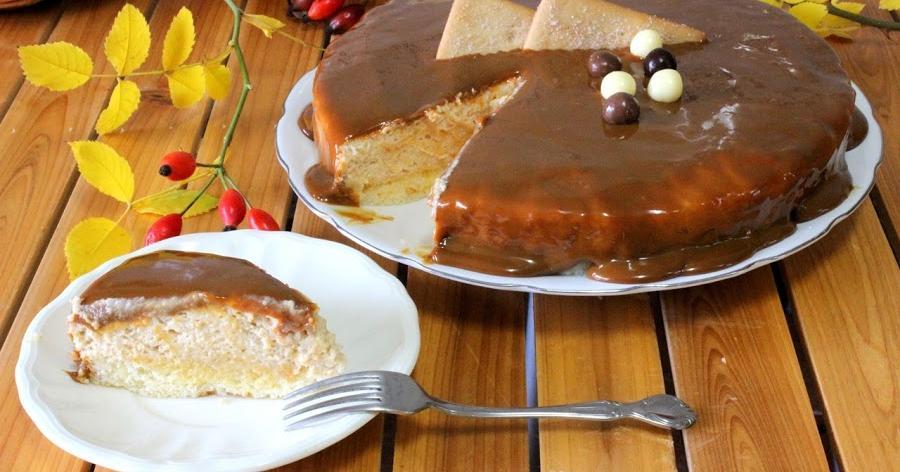 Tarta mousse de galletas María con dulce de leche