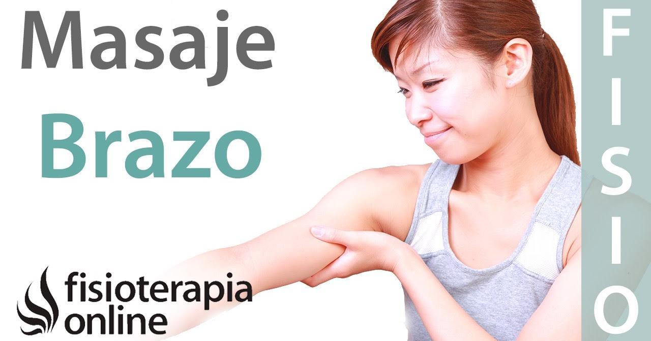 masajes para adelgazar los brazos