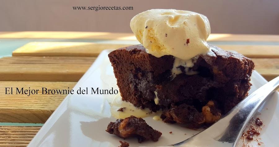 La receta más fácil para hacer el mejor brownie del mundo