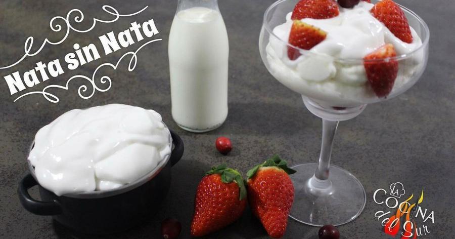 La crema de leche tiene grasa animal