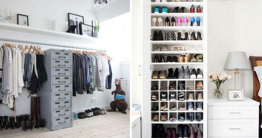 C mo hacer un vestidor - Como hacer un closet en una habitacion ...