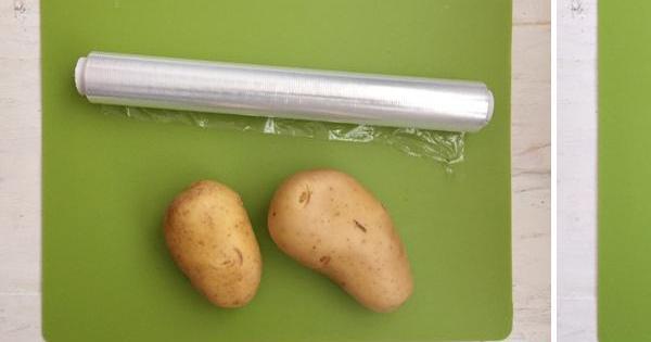 Patatas cocidas en un 'plis'