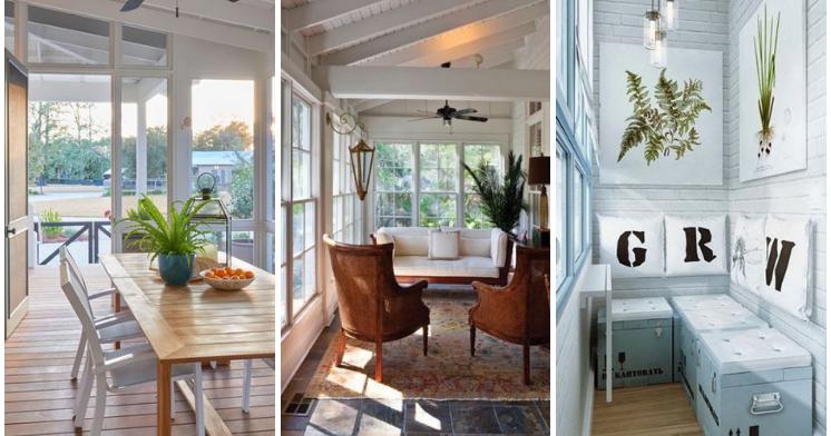 Ideas para terrazas cerradas - Ideas para decorar un porche cerrado ...