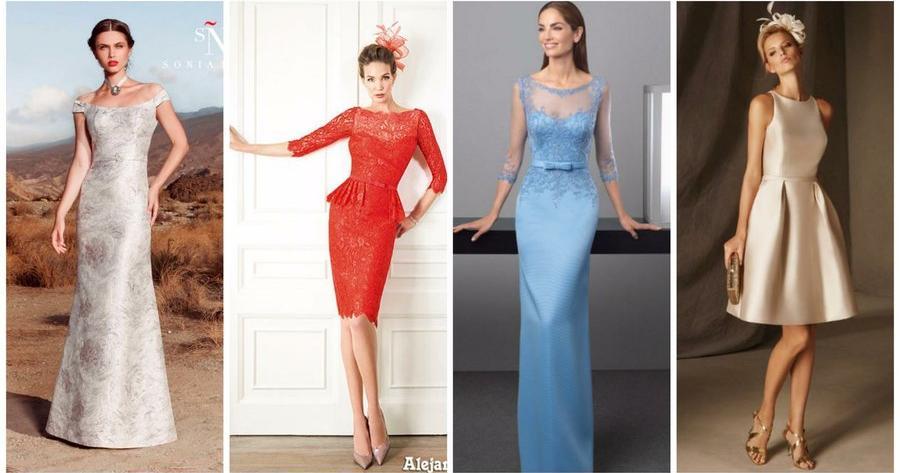 ae62fcb11 Vestidos elegantes para mujeres maduras