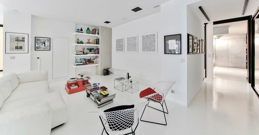 C mo separar estancias sin paredes decoraci n for Figuras decorativas modernas salon