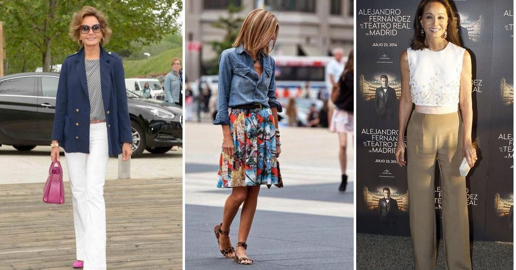 cómo vestir a los 50 (y cómo no) | belleza