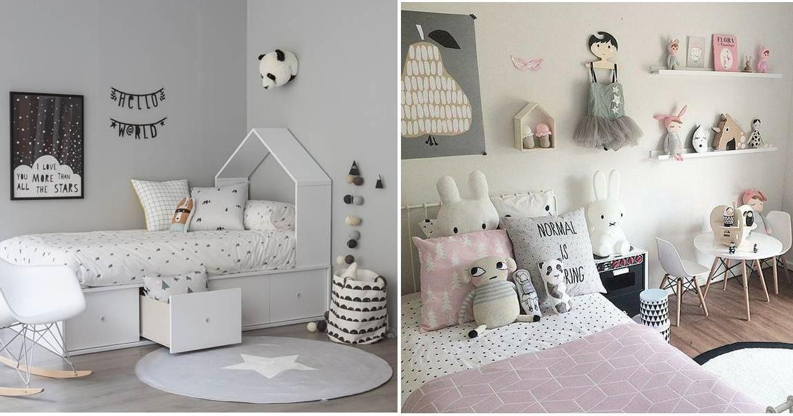 Galería con estilo country infantil Consejos sobre arquitectura - Inspiración, estilo nórdico en habitaciones infantiles ...