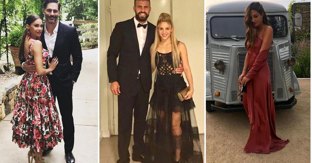 Vestidos invitada de boda famosas