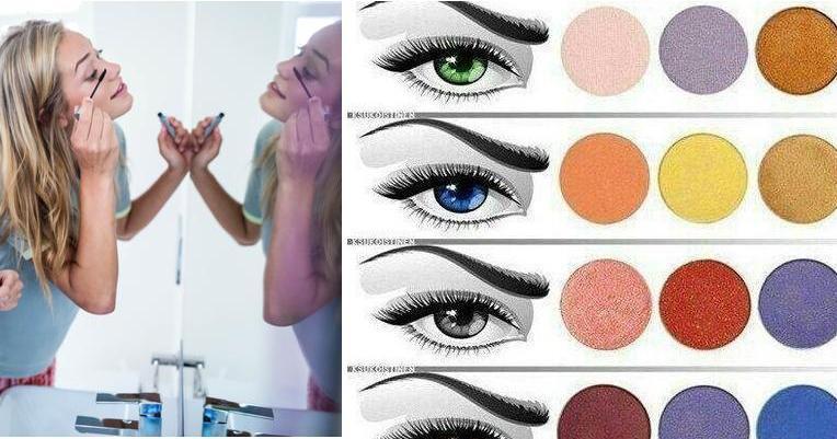934ad870a Dime qué color de ojos tienes y te diré qué sombra usar   Belleza
