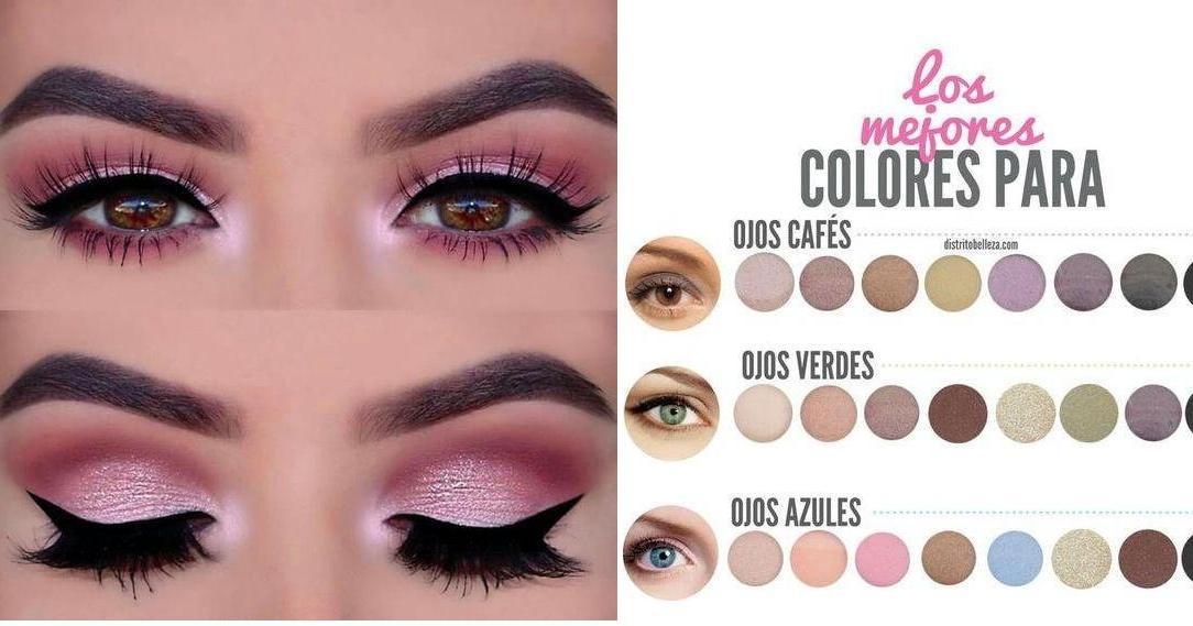Ideas Para Maquillar Tus Ojos El Día Del Amor Y La Amistad Belleza