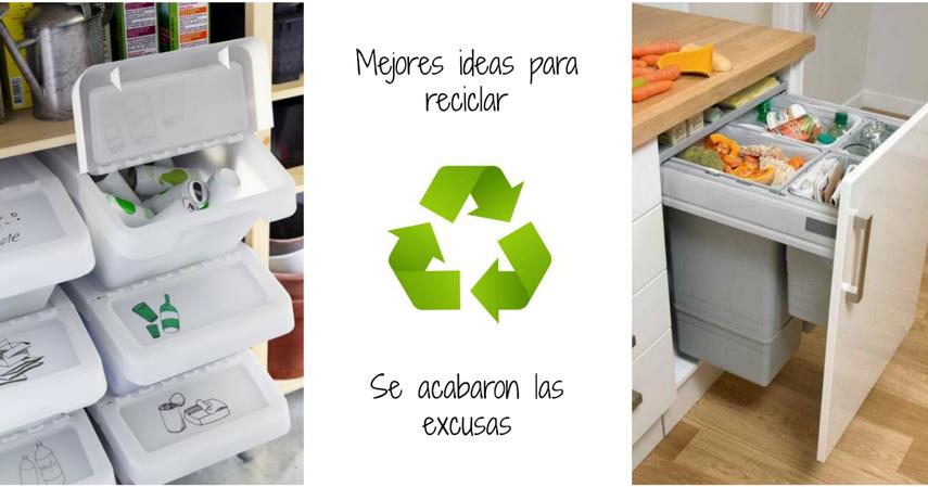 Hacer un cubo de basura para reciclar - Cubos para reciclar ...