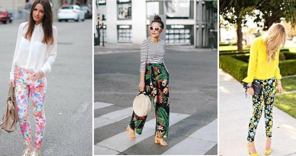 Lleva Pantalones Con Flores Y Luce Espectacular Prueba Estas 25 Opciones Belleza