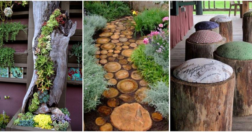 Un huerto con materiales reutilizados plantas - Como hacer un jardin bonito y barato ...