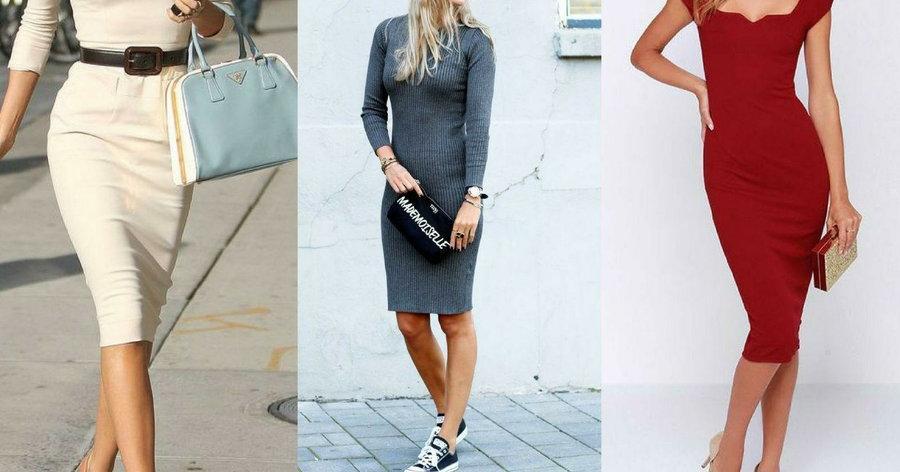 Outfits Con Vestidos Tipo Lápiz Belleza