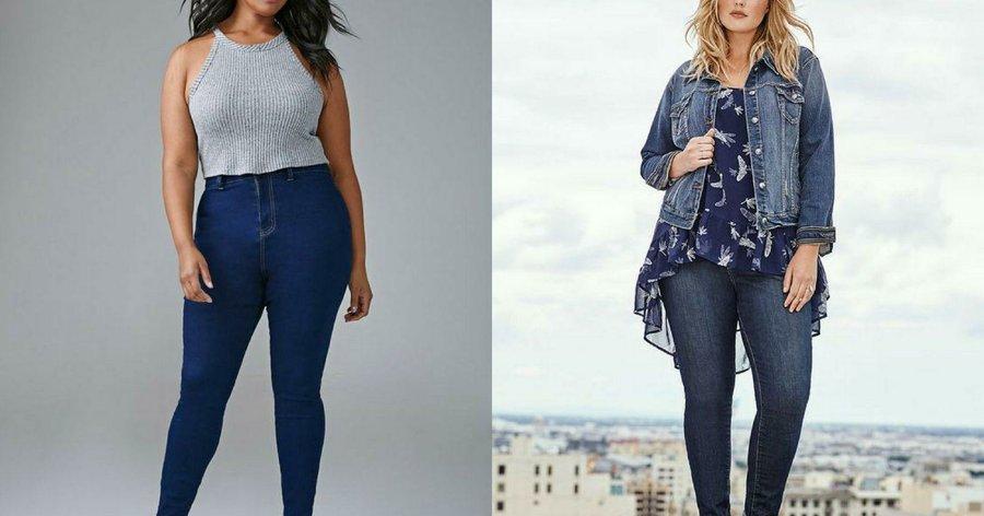 a84b5b701f Jeans para chicas con curvas