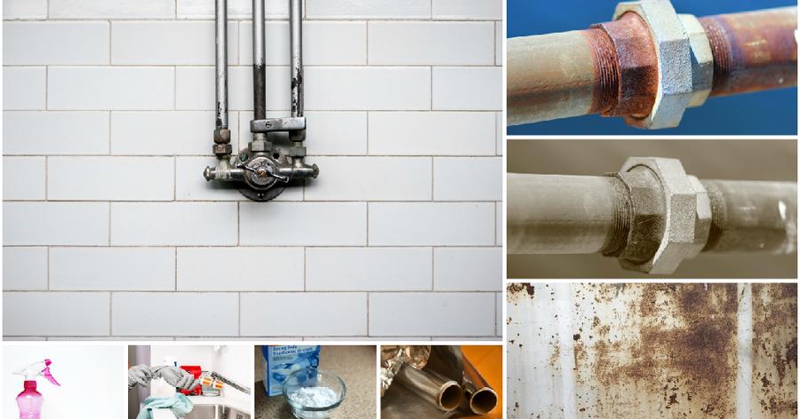 Trucos para eliminar el óxido y el moho de tu hogar