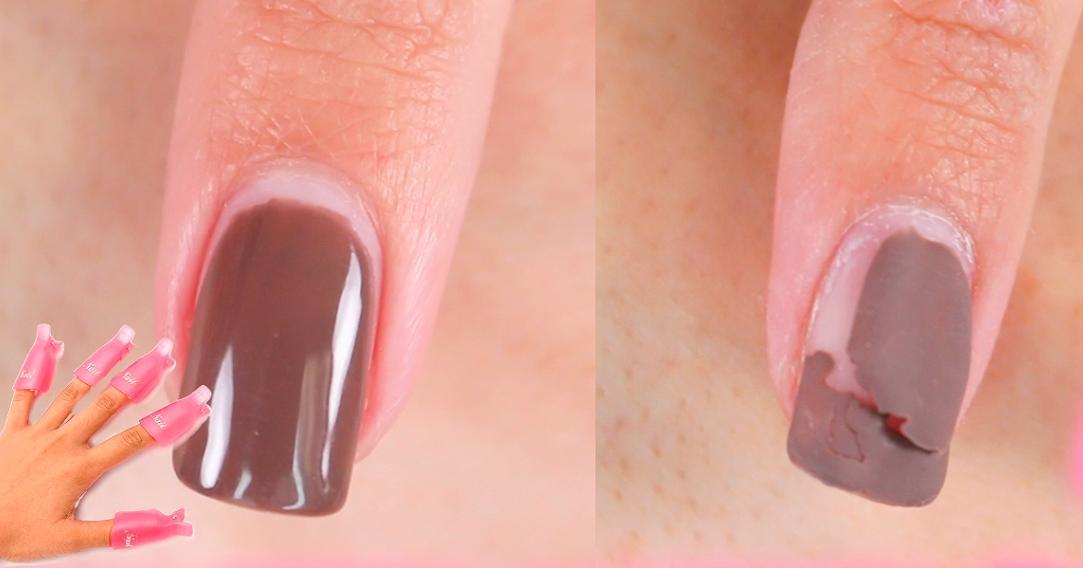 La forma más rápida y sencilla de quitar el gelish de las uñas en casa |  Belleza