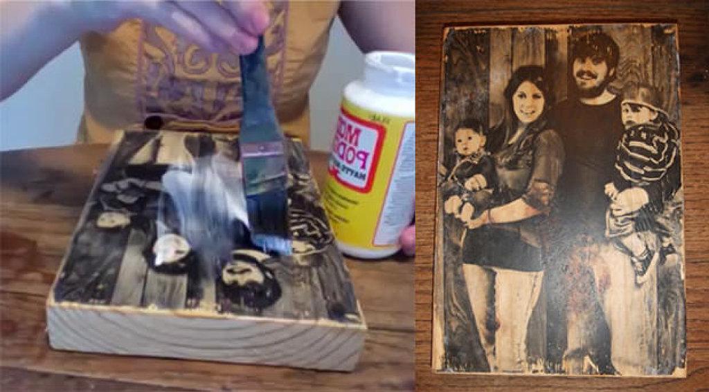 Cómo imprimir tu fotografía a un bloque de madera