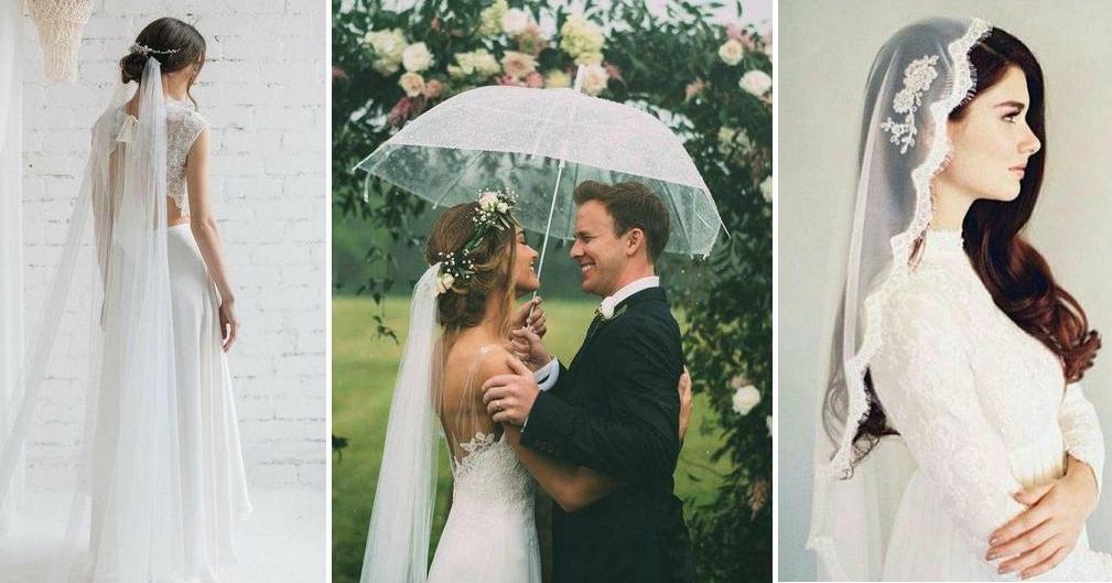 c251087efd 10 formas de llevar el velo de novia