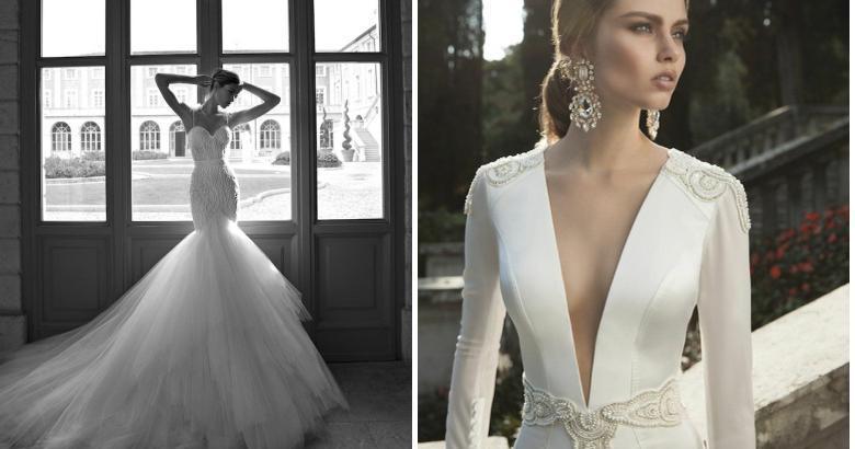 vestidos de novia ceñidos y femeninos | bodas