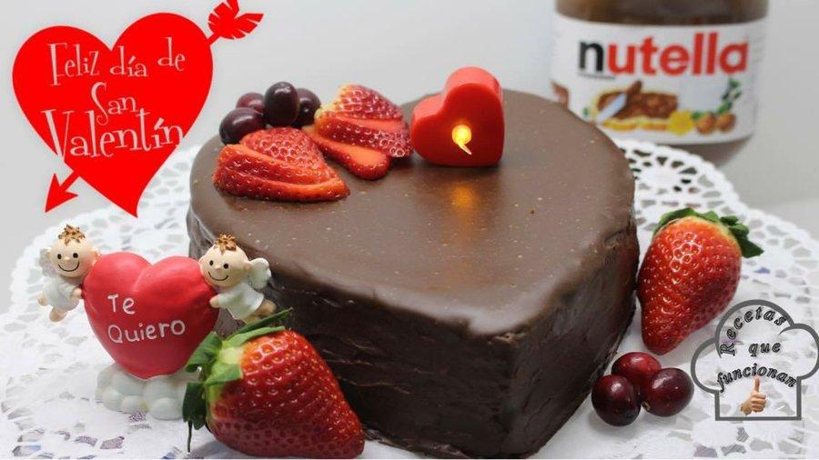 Nutella cheesecake especial san valent n cocina for Platos caseros faciles